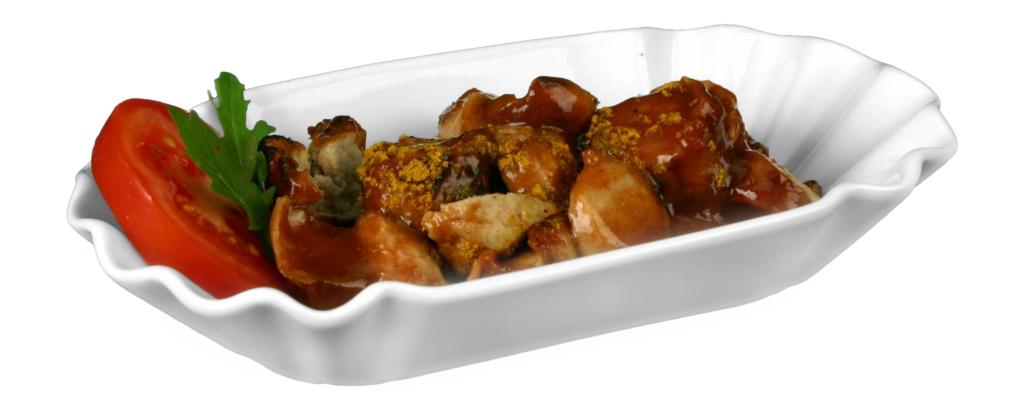 Currywurstschale-Holst-Porzellan