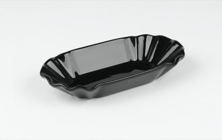 Pommesschale-schwarz-Holst-Porzellan