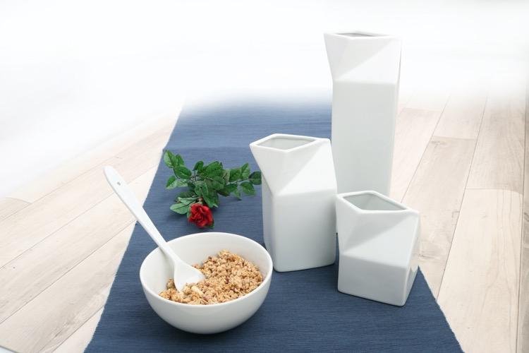 Gießer, Krüge und Kannen im Tetrapack-Design